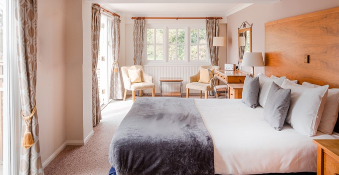 Thorpeness Golf Club & Hotel, Bedroom 21 With Terrace