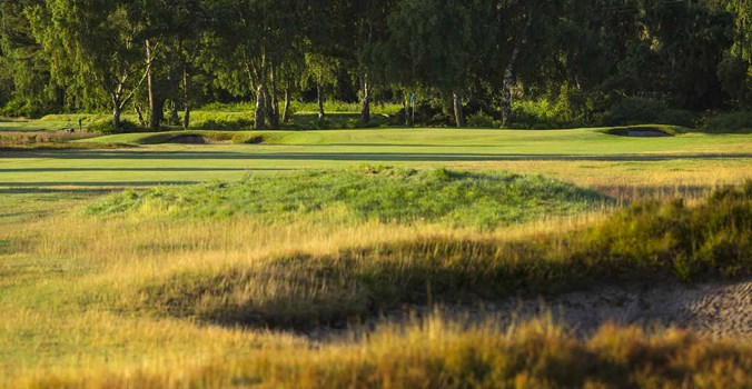 15Th Hole Approach At Thorpeness Golf Course Suffolk