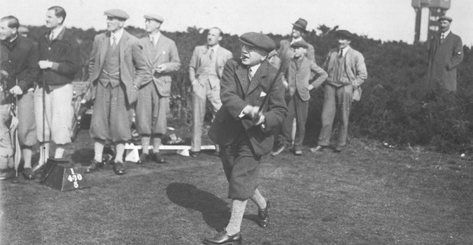 Thorpeness 1St Tee 1930s