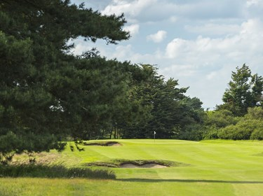 1st hole fairway at Thorpeness Golf Course Suffolk (2)