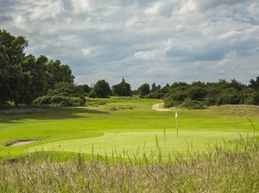 Par 3 2nd Hole at Thorpeness Golf Course Suffolk