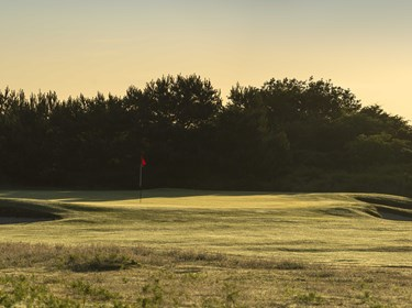 Hole 10 at Thorpeness Golf Course Suffolk