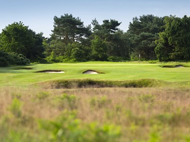 12th fairway Hole at Thorpeness Golf Course Suffolk