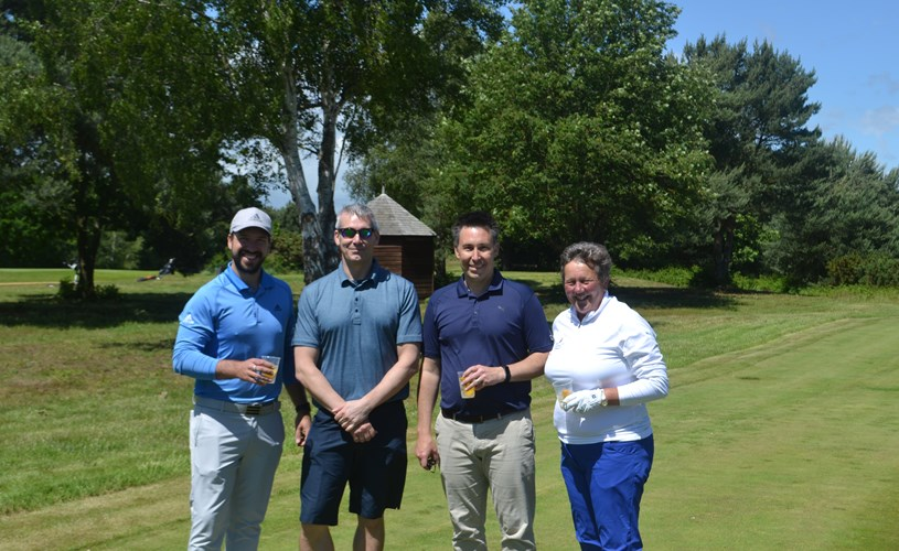 £17,500 raised for EACH in charity golf day